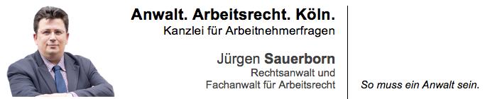 Anwalt für Arbeitsrecht in Köln
